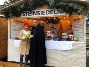 2018-12-09 STEINSIEDELN - Olivera und Abt Urban Federer_107a